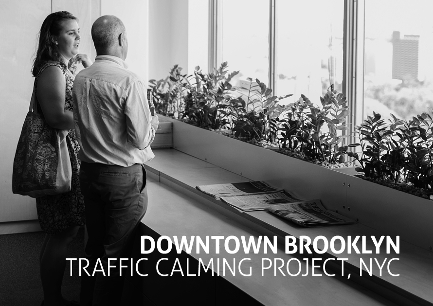 Downtown Brooklyn Traffic Calming Project, NYC